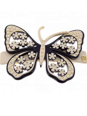 ADP Lisere Butterfly barrette 6 cm