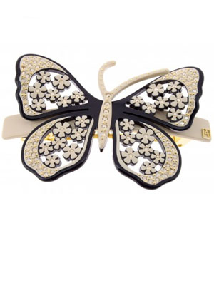 ADP Lisere Butterfly barrette 8 cm
