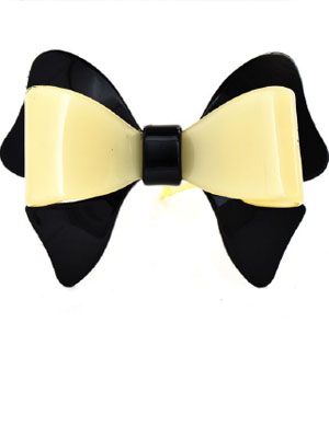bow beige&black Davidian