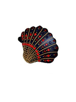 shell blue elastic Davidian